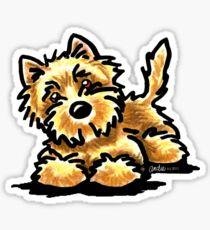 Wheaten Cairn Terrier Sticker