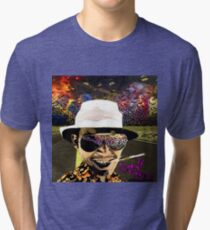 Fear and Loathing in Dark threads Tri-blend T-Shirt