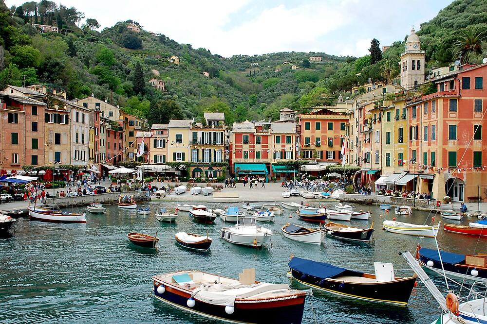 Portofino - Italy by Arie Koene