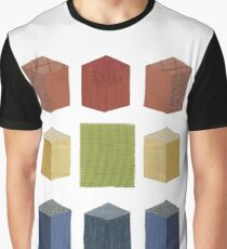 Axonometric Graphic T-Shirt