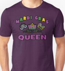 Mardi Gras Queen Unisex T-Shirt