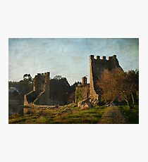 Decayed Photographic Print