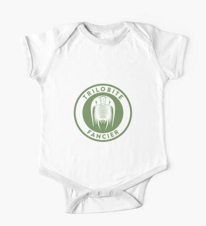Trilobite Fancier (green on white) Kids Clothes
