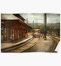 Train - Boarding the Scranton Trolley Poster
