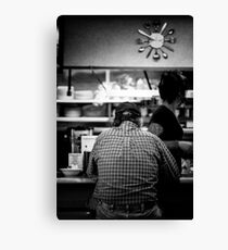 Diner Regular Canvas Print