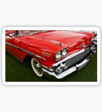1958 Chevy Impala Sticker