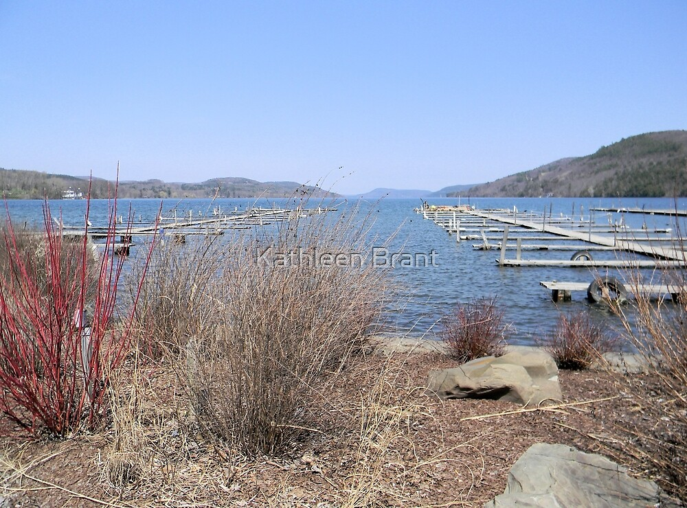 Early Spring on Otsego Lake by Kathleen Brant