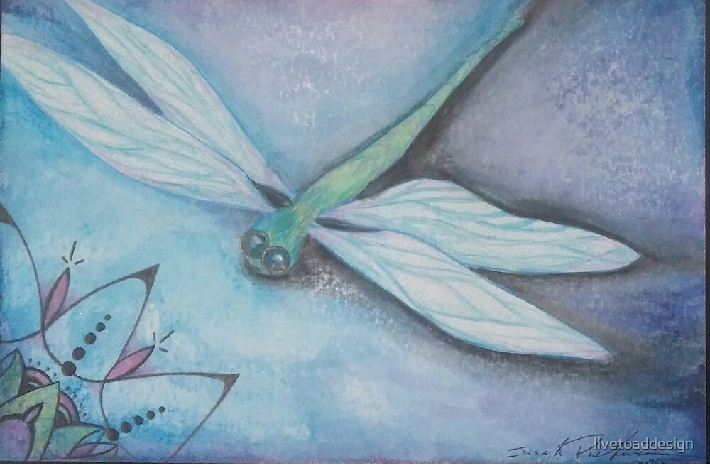Dragonfly by livetoaddesign
