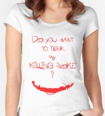 Killing joke 1 Women's Fitted Scoop T-Shirt