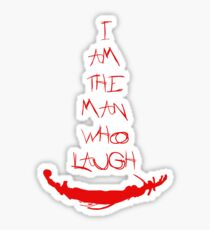 The man who laugh Sticker