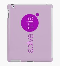 Solve This iPad Case/Skin