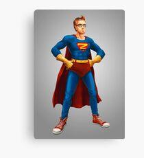 Geek Hero Canvas Print