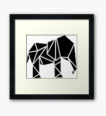 Cool Cut Elephant Framed Print