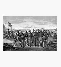 The Generals Of The Confederate Army Photographic Print