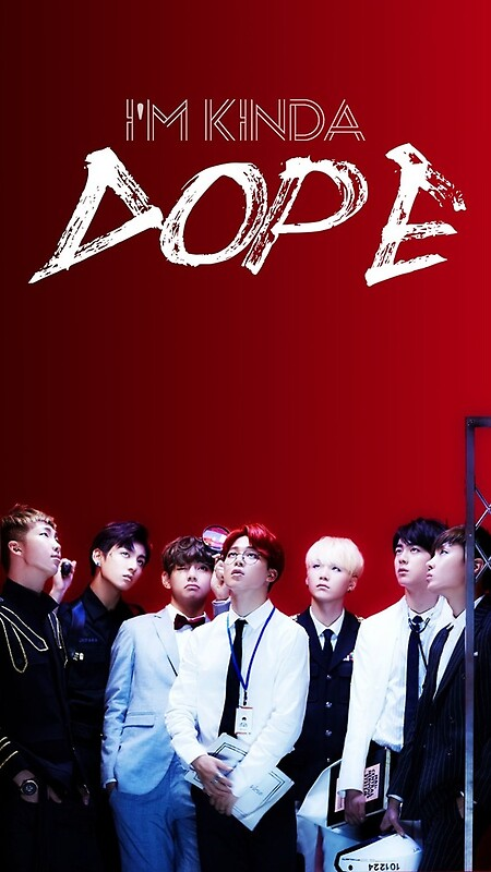 quotbts dope quot by lovex2254 redbubble
