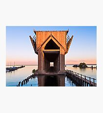 Old Ore Dock at Marquette, Michigan Photographic Print