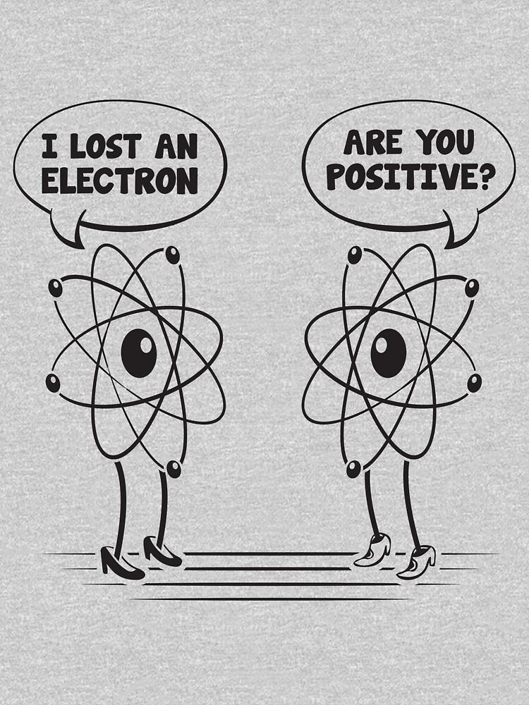 I lost and electron by adiruhendi