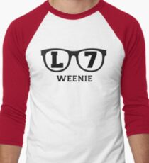 L 7 Weenie Men's Baseball ¾ T-Shirt