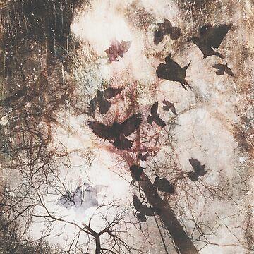 Ravens by printisdead