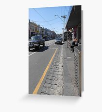 Collingwood Streetscape Greeting Card