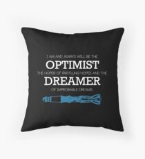 Dr. Who Sonic Screwdriver  Throw Pillow