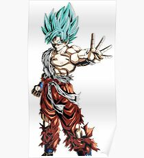 Goku God Poster