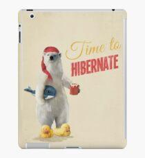 Time to Hibernate iPad-Hülle & Klebefolie