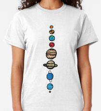 Planeten Farbe Classic T-Shirt