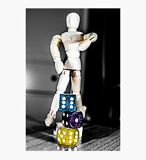Of Dice and Men Photographic Print
