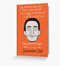 Salvador Dalí Greeting Card