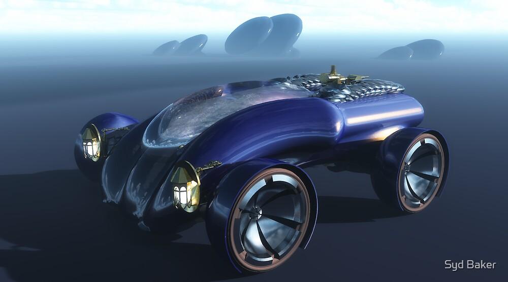 Steam Punk Roadster by Syd Baker
