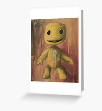 Little Sackboy Greeting Card