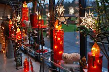Christmas illumination by Arie Koene