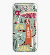 Tiger garden Bali iPhone Case/Skin