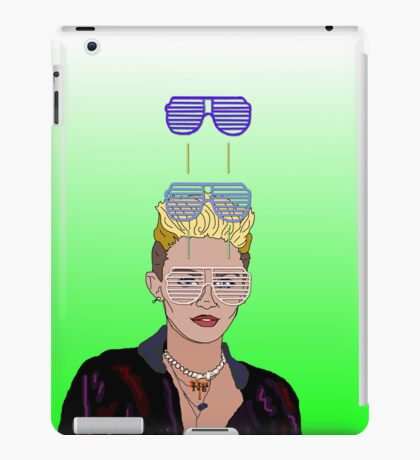 Cool Down - Miley iPad Case/Skin