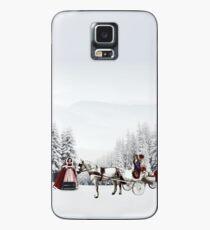 Winter Romantik. Hülle & Klebefolie für Samsung Galaxy
