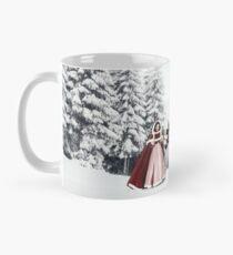 Winter romance. Mug