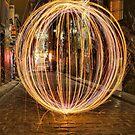 Light Orb in Hosier Lane by djzontheball