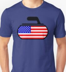 USA Curling Unisex T-Shirt