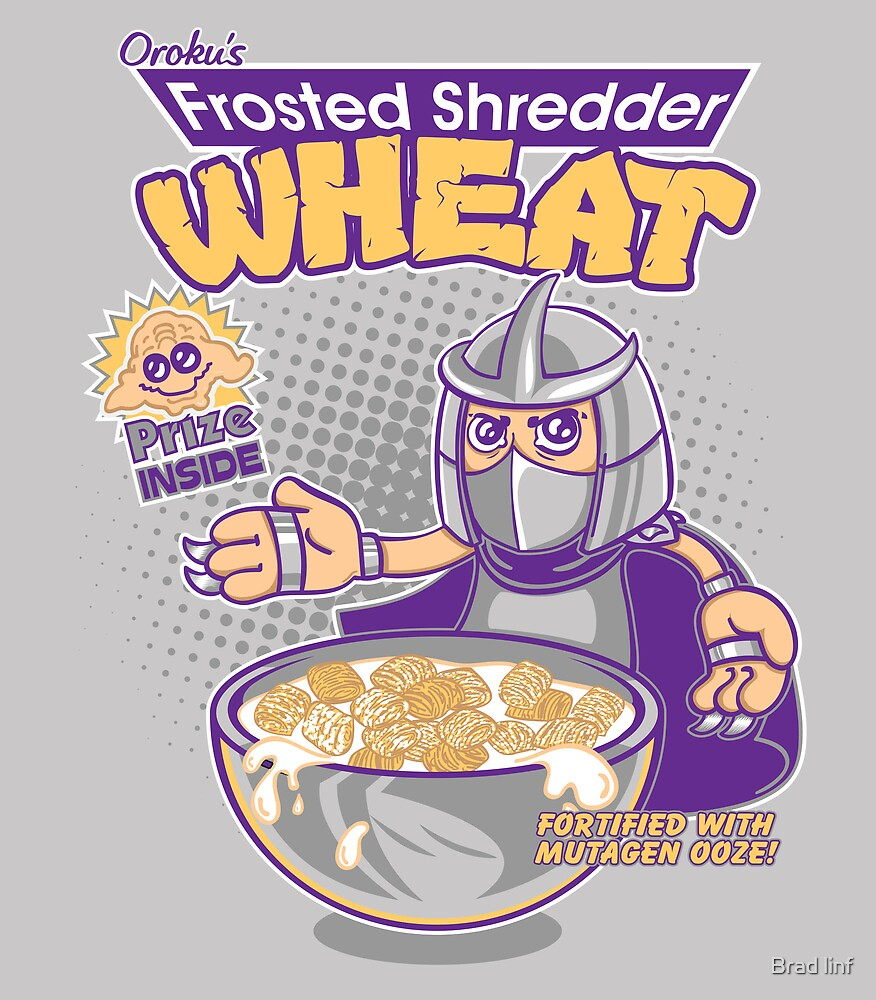 Shredder Wheat by Brad linf
