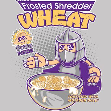 Shredder Wheat by Artbone