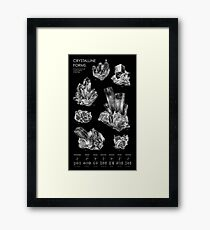 Crystalline Forms Framed Print