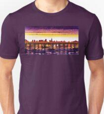 San Francisco Sunset City Skyline T-Shirt