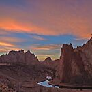Smith Rock Sunset by Jeff Chen