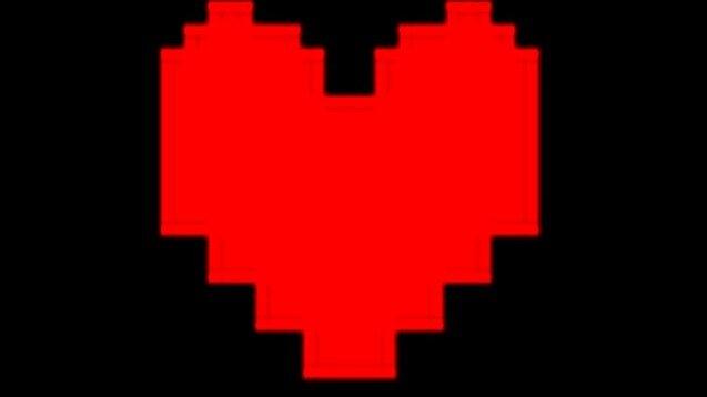 Undertale heart by imakeartXDD