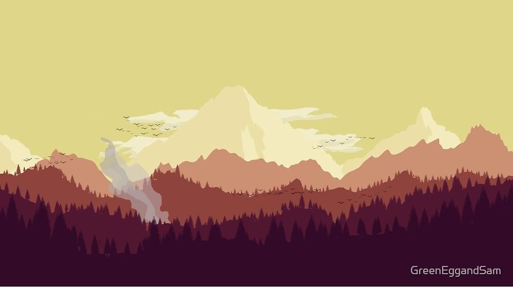 Wild Fire by GreenEggandSam