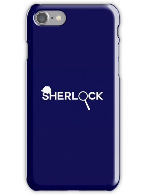 Sherlock Hand Designed Phone Case by Cassius R.H