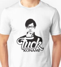 Hideo Kojima F*CK KONAMI Unisex T-Shirt