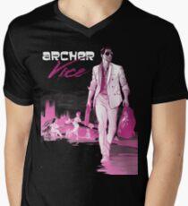 Miami Mens V-Neck T-Shirt