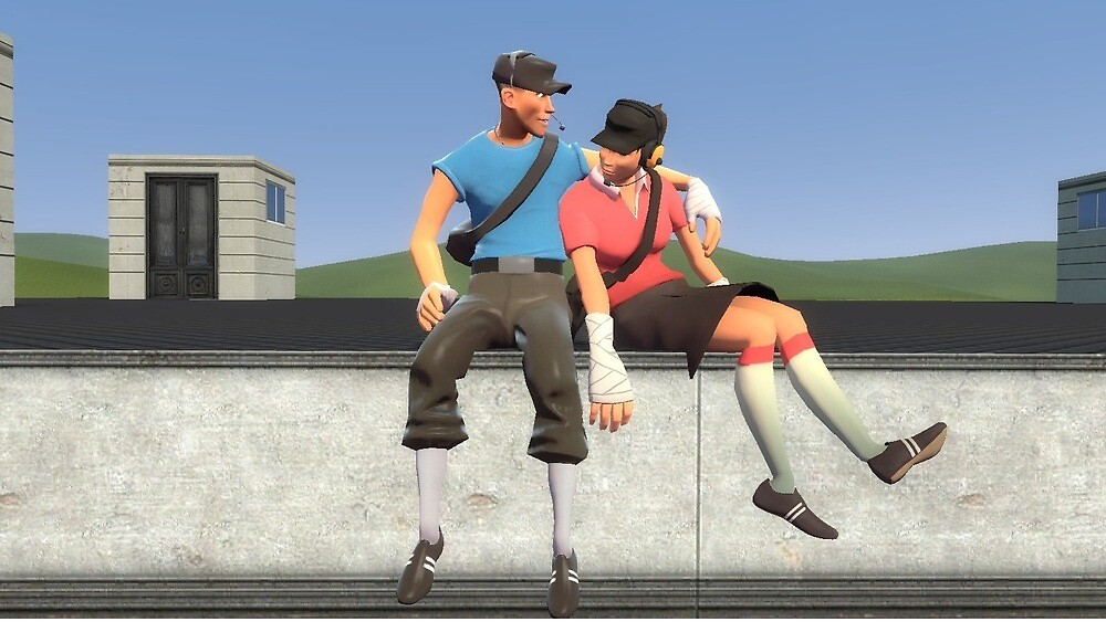 G mod Male Scout and Girl scout by Mrlarkbark